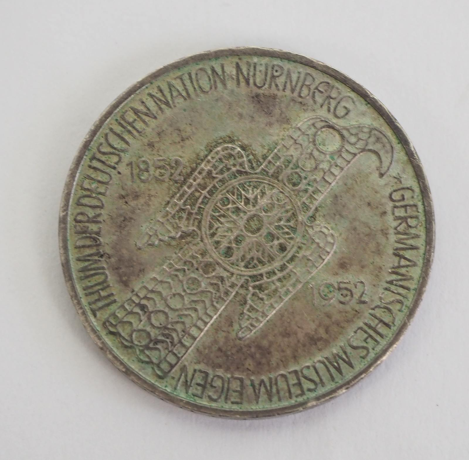 5 Dm Silber Germanisches Museum Lotsearchde